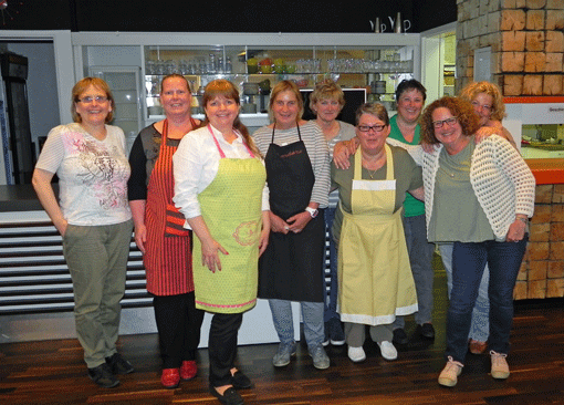 Kochgruppe Flexitarien am 21. Mai 2015